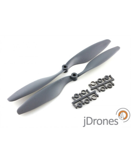 Propeller set, 12x45 EPP Style, Composite