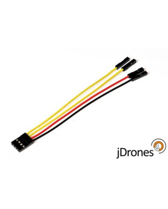 Telemetry cable, 4 pin, 10cm